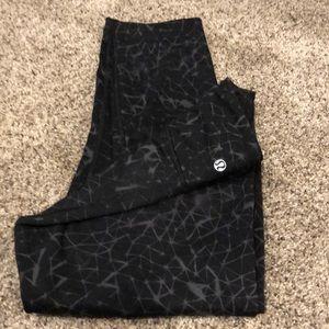 Cropped leggings - LuLu Size 8